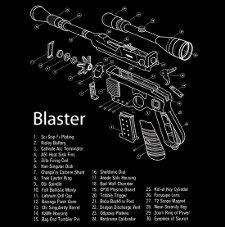 blaster Star Wars Blaster T Shirt