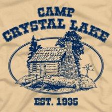 camp crystal lake t shirt Friday the 13th Camp Crystal Lake T Shirt