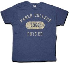 faber college phys ed 1963 t shirt Animal House Faber College T Shirt