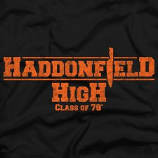haddonfield high class of 78 t shirt Halloween Haddonfield High Class of 78 T Shirt