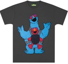 hangover cookie monster elmo t shirt Sesame Street Hangover Cookie Monster Elmo T Shirt