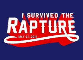 i survived the rapture t shirt I Survived the Rapture T Shirt
