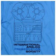 international analog preservation society t shirt International Analog Preservation Society T Shirt