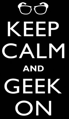 keep calm and geek on t shirt Keep Calm and Geek On T Shirt