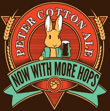peter cotton ale now with more hops t shirt Peter Cotton Ale Now With More Hops T Shirt