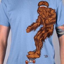 skater bjorn big foot t shirt Big Foot Bjorn To Skate T shirt