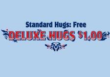 standard hugs free deluxe hugs 1 t shirt Standard Hugs Free: $1 Deluxe Hugs T Shirt