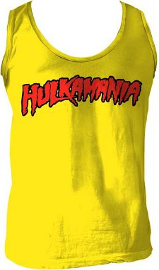 hulkamania t shirt Sleeveless Hulkamania T Shirt