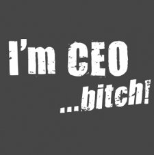 im ceo bitch t shirt The Social Network Im CEO Bitch T Shirt