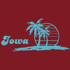 iowa beach tee Beach Tees