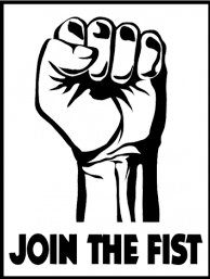 join the fist t shirt Join The Fist T Shirt