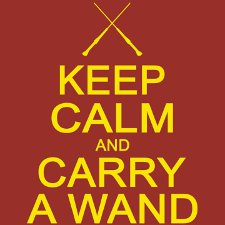 keep calm and carry a wand t shirt Funny Harry Potter T Shirts Are Magic
