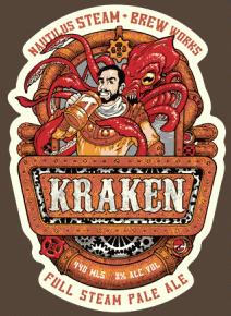 kraken full steam pale ale t shirt 20,000 Leagues Under the Sea Kraken Full Steam Pale Ale T Shirt