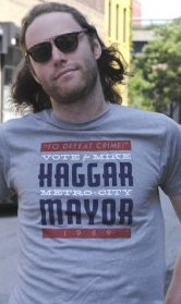 mike haggar metro city mayor t shirt Vote for Mike Haggar Metro City Mayor T Shirt