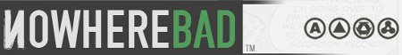 nowherebad logo Nowhere Bad Does The Limited Time User Submitted Design T Shirt Site With Flair