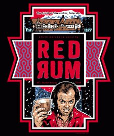 the shining jack nicholson red rum t shirt The Shining Jack Nicholson Red Rum T shirt