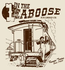 1 in the caboose t shirt 1 In the Caboose T Shirt