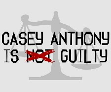 casey anthony is not guilty t shirt Casey Anthony T Shirts Bamboozle Legal System