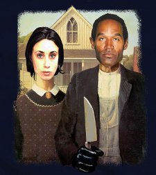 casey oj american gothic t shirt Casey Anthony T Shirts Bamboozle Legal System