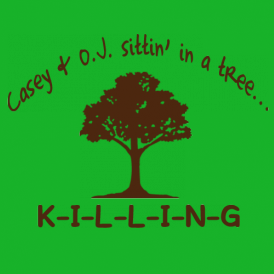 casey oj sittin in tree killing t shirt Casey Anthony OJ Simpson Casey and OJ Sitting in a Tree KILLING T Shirt
