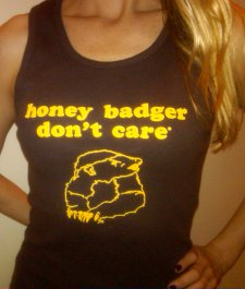 honey badger dont care tank top Honey Badger T Shirts