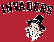 invaders t shirt Cleveland Indians Spoof Invaders T Shirt