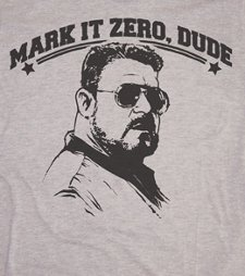 mark it zero dude t shirt The Big Lebowski T Shirts Abide