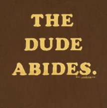 the dude abides t shirt1 The Big Lebowski The Dude Abides T Shirt