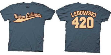 urban achievers 420 jersey The Big Lebowski T Shirts Abide