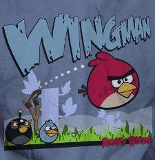 angry birds wingman t shirt Angry Birds Wingman T Shirt