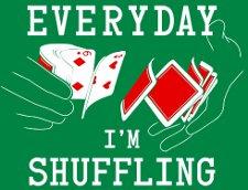 everyday im shuffling t shirt Math & 80s Dancing & 90s Cinema