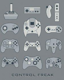 game control freak t shirt Video Game Control Freak T Shirt