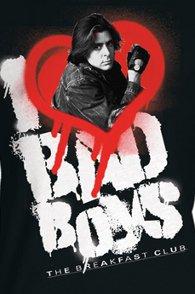 i heart bad boys the breakfast club t shirt The Breakfast Club I Love Bad Boys T Shirt