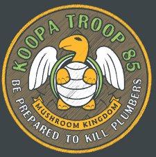 koopa troop 85 t shirt Mario Brothers Koopa Troop 85 T Shirt