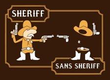 sheriff sans sheriff t shirt Sheriff Sans Sheriff T Shirt