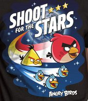 shoot for the stars t shirt Shoot for the Stars Angry Birds T Shirt