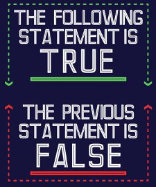 the following statement is true the previous statement is false t shirt The Following Statement is True The Previous Statement is False T Shirt