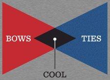 bow ties cool t shirt Venn Diagram Bow Ties T Shirt