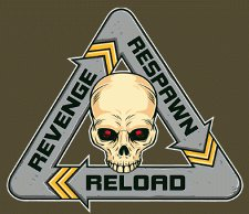 respawn reload revenge t shirt FPS Respawn Reload Revenge T Shirt