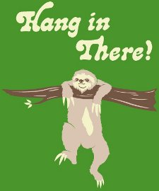 sloth hang in there t shirt Sloth Hang In There T Shirt