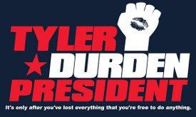 tyler durden president t shirt Fight Club Tyler Durden President T Shirt