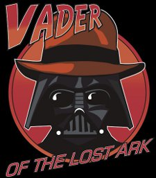 vader of the lost ark t shirt Star Wars Raiders of the Lost Ark Vader of the Lost Ark T Shirt
