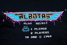 albotas start menu t shirt Gradius Start Menu Albotas T shirt for 604 Republic