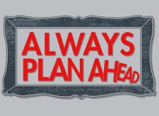 always plan ahead t shirt Always Plan Ahead T Shirt from Snorg Tees