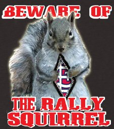 beware of the rally squirrel t shirt St. Louis Cardinals Beware of the Rally Squirrel T Shirt from Look At Me Shirts