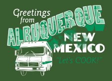 greetings from albuquerque lets cook t shirt Breaking Bad Greetings From Albuquerque New Mexico Lets Cook T Shirt from Snorg Tees