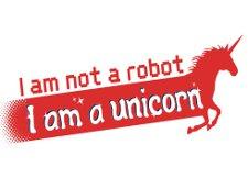 i am not a robot i am a unicorn t shirt I Am Not a Robot I Am a Unicorn T Shirt