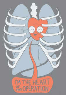 im the heart of this operation t shirt Im the Heart of This Operation T Shirt from Busted Tees