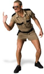 lt dangle costume Reno 911 Lieutenant Dangle Costume