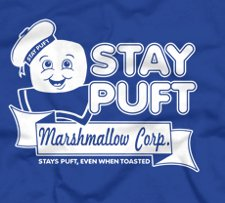 stay puft marshmallow corp t shirt Ghostbusters Stay Puft Marshmallow Corp. T Shirt from Five Finger Tees